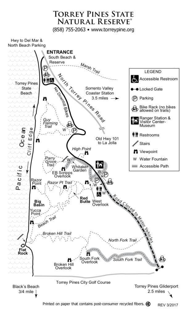 Torrey Pines Map